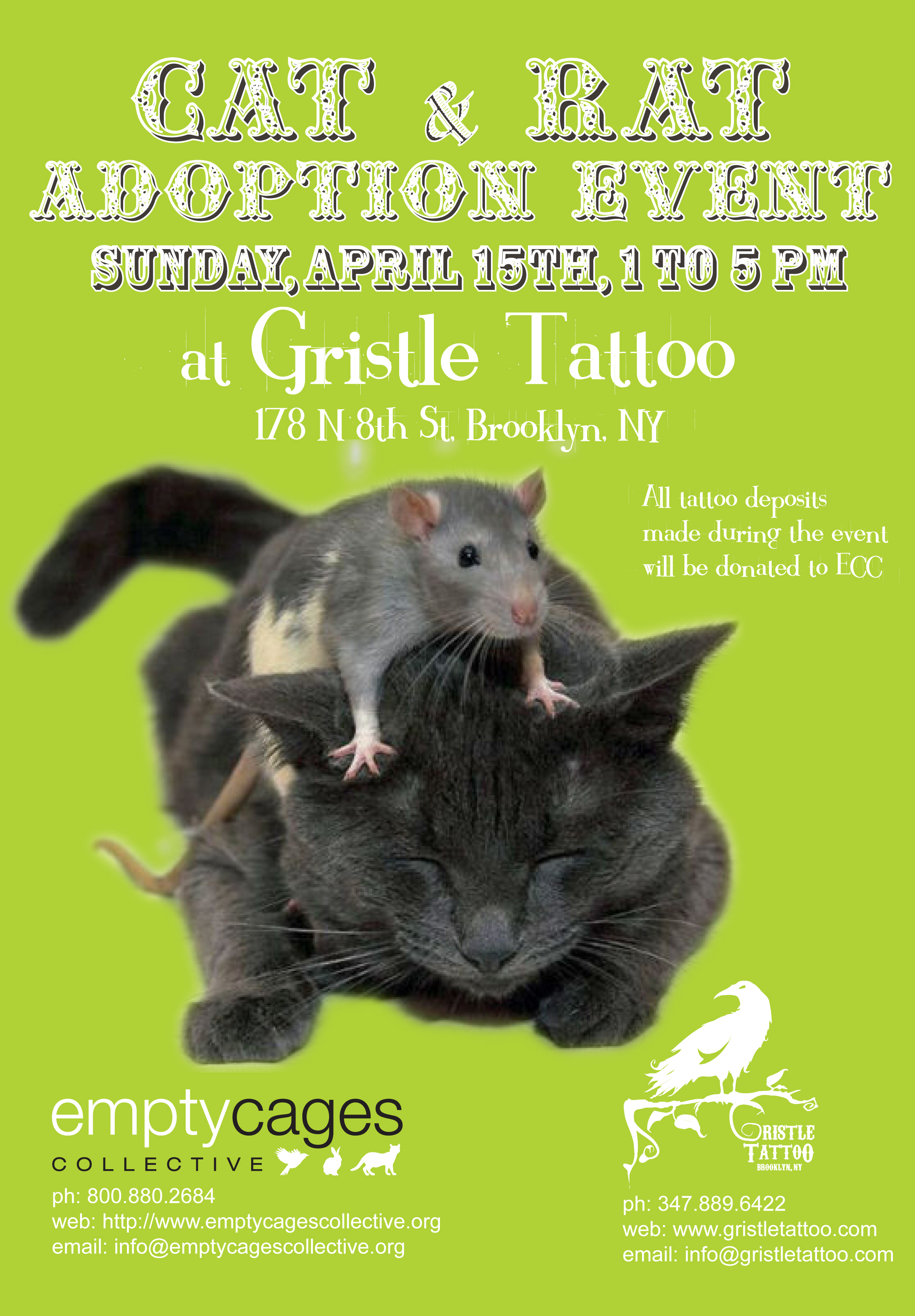 Gristle Adoption Event